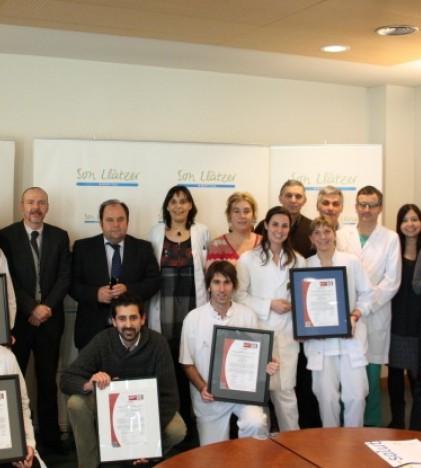 Cuatro nuevos certificados de calidad para el Hospital de Son Llàtzer