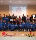 Imagen de todos los galardonados en la V Gala de l'Esport de Marratxí.