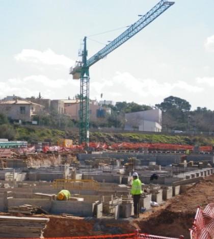 Las obras del IES Sant Marçal comenzaron en enero y se prevé estén concluidas a final de año.