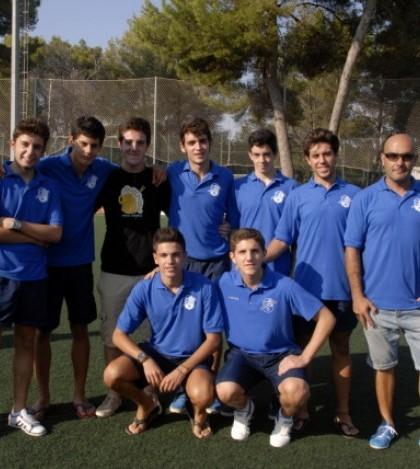 El equipo Juvenil A del Sporting Sant Marçal