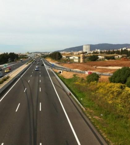 El cuarto tramo del Segundo Cinturón prevé la reconversión de la carretera existente de la Ma-30 entre la intersección de la carretera vieja de Inca y la autopista