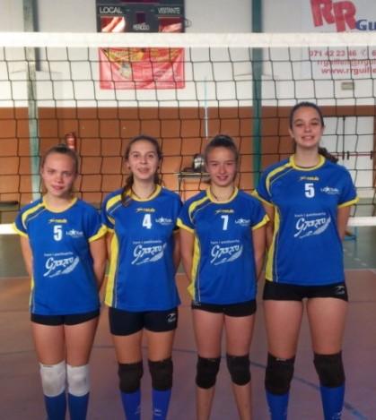 Las jugadoras seleccionadas son Marta Crespí, del equipo Cadete femenino; Xisca Garau, convocada con el equipo Infantil; y las dos alevines María Rodríguez y María Creus.