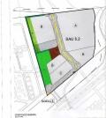 El plano del proyecto previsto en la parcela SAU 5.2, colindante a la urbanización de Son Macià.