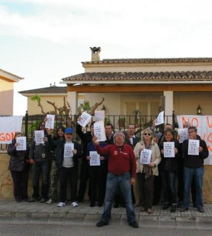 Los vecinos de Son Macià han creado una plataforma ciudadana para luchar por la paralización del polígono