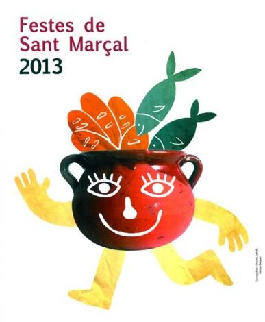 El cartel de las Festes de Sant Marçal 2013 es obra de la joven Fátima de Juan