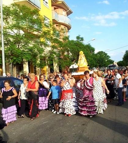 El domingo 14, a partir de las 19 horas se celebra la Romería