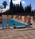 El programa de fiestas comenzó el El programa de fiestas se inició con una gran fiesta en las piscinas de Es Pla de na Tesa