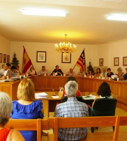 Foto del último Pleno celebrado el pasado viernes 19 de julio.