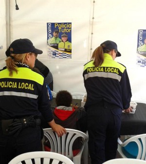 Imagen extraída de la página de Facebook Policía Tutor Illes Balears, de la Conselleria d'Administracions Públiques.