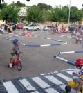 La Policía Local participó en las fiestas con su atractivo Parc d'Educació Viària.