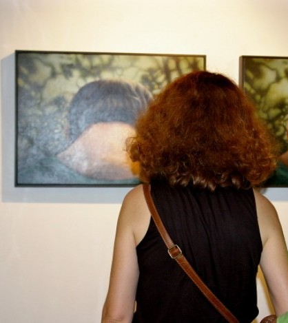 La obra de Antoni Socias, ganador del pasado Certamen de Pintura Sant Marçal