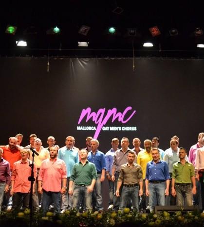 Mallorca Gay Men's Chorus en su primera actuación