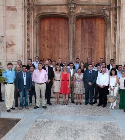 Reunión de alcaldes de las Illes Balears con la consejera de Administraciones Públicas