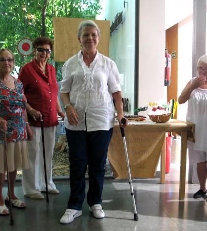 Algunas de las usuarias del Centre de Dia Brot de Gínjol1