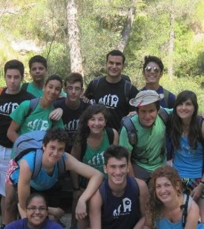 Grupo excursionista del Espai Jove Es Pont d'Inca