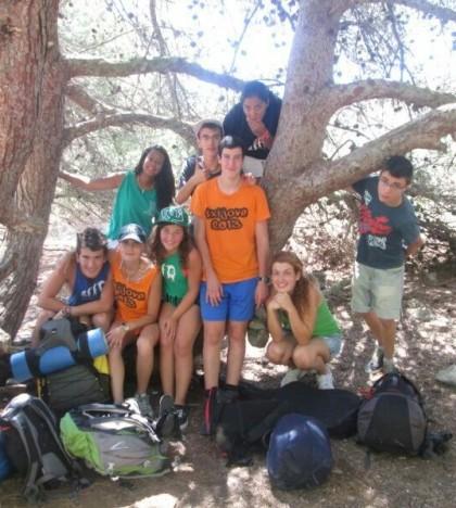 Los jóvenes han disfrutado de dos jornadas en el refugi de s'Arenalet d'Aubarca.