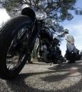 La prueba permite una participación máxima de 40 motos fabricadas antes de 1940. FOTO: PEP BESTARD