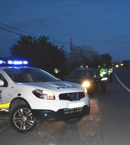 En los controles han participado un total de 185 policías locales.