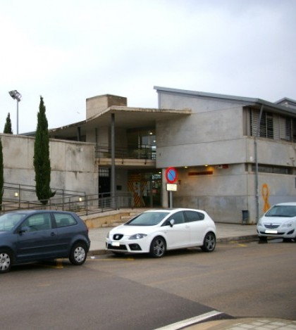 La fachada del IES Marratxí.