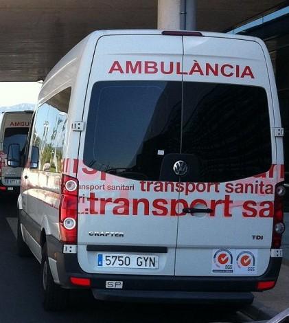 El herido ha sido trasladado al Hospital de Son Espases dónde ha sido atendido por los servicios de Urgencias