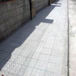 Prolongación y reparación aceras en Avda. dels Garrovers