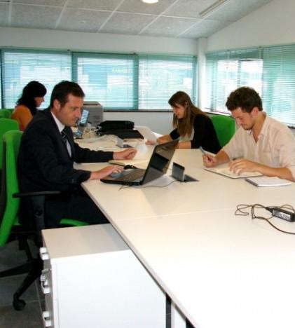 Desde Unitiva se incentiva el coworking como una solución ventajosa para los profesionales autónomos que inician su actividad