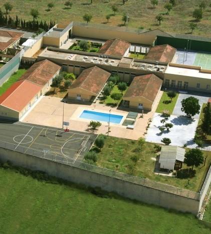 Foto aérea deEl centro socioeducativo Es Pinaret, ubicado en Marratxí.