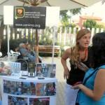 En la jornada participaron algunas entidades con Canima, que fomenta la terapia con animales