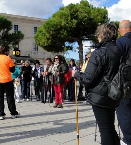Imagen de la primera 'passejada' celebrada el año pasado para conmemorar el Día sin Juegos de Azar