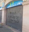 La fachada de la sede del PP en Marratxí.