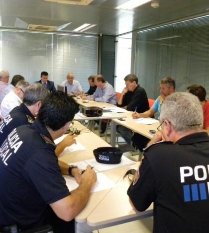 Los representantes de las policías locales se han reunido para concretar acciones conjuntas.