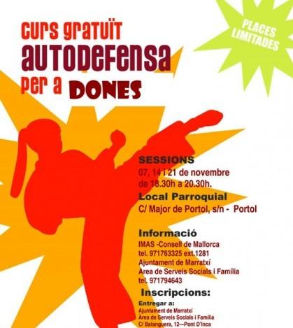 Marratxí organiza un curso de autodefensa para mujeres.