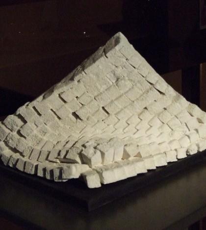 Una de las piezas que optaron a la quinta convocatoria de la Bienal de Cerámica de Marratxí