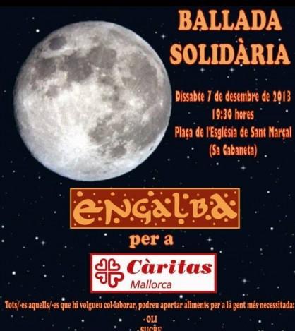 Engalba organiza su tercera 'Ballada Solidària' en beneficio de Càritas Mallorca.