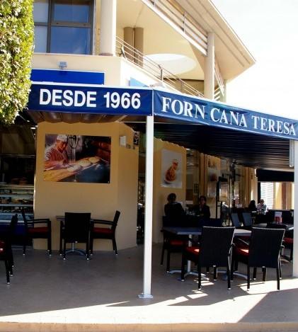 La nueva hamburguesería de El Forn de Ca na Teresa está en la zona comercial de Sant Marçal
