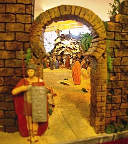 El Belén estará expuesto en la iglesia de Pòrtol hasta Sant Antoni (3)