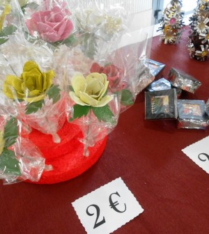 Algunos de los productos realizados por los residentes de Can Carbonell.