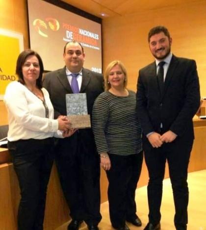 Una delegación mallorquina se ha trasladado a Madrid para recoger el galardón.