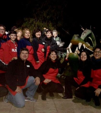 Amigos Rocieros de Marratxí en la Revetla de Sant Antoni