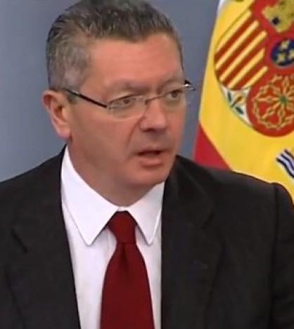 El ministro Gallardón comparece tras la aprobación del Anteproyecto de Ley del aborto