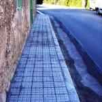 Reparación de la acera de la calle Olesa (Sa Cabaneta)