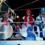 Una de las divertidas carrozas de la cabalgata de Es Pont d'Inca