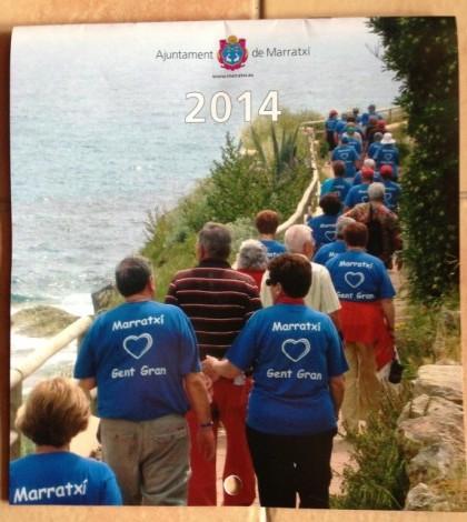 Una foto del calendario 2014 que ha editado el Ajuntament de Marratxí