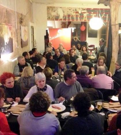 Más de 80 personas se reúnen con los socialistas de Marratxí