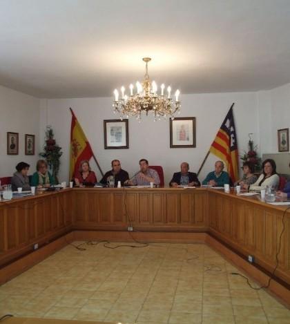 Una imagen del pleno celebrado en Marratxí este mes de febrero