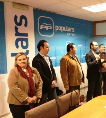 Los miembros de la Junta Local del PP Marratxí