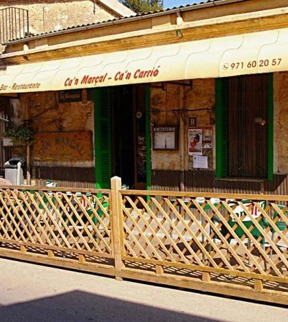 Bar restaurante Can Carrió en Marratxí