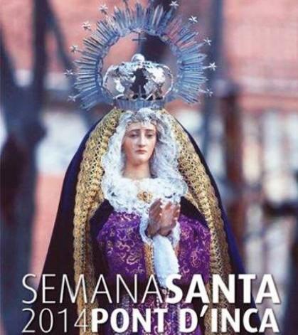 Cartel Semana Santa en Es Pont d'Inca