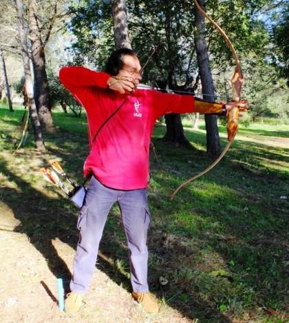 Damià Juan, un arquero marratxiner