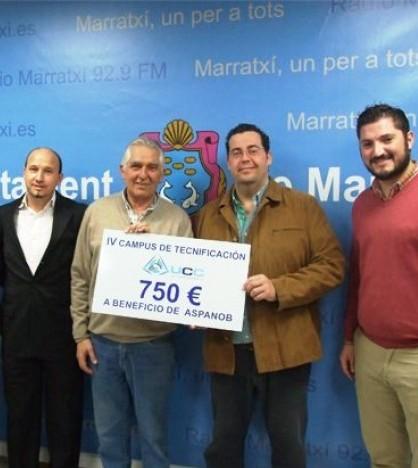El Campus de Aspanob recauda 750 euros en Marratxí